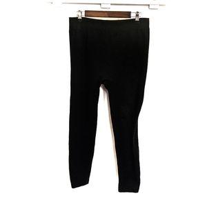 Bundle of 2 Pairs of Black Leggings Size 1x
